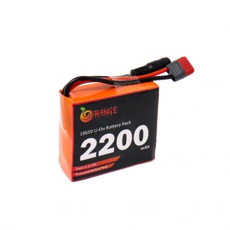 Orange 18650 Li-ion 2200mAh-3s-11.1v-3c 3S1P