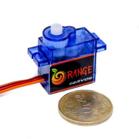Orange OT90R 6V 1.5kg.cm Metal Brush Digital Servo Motor