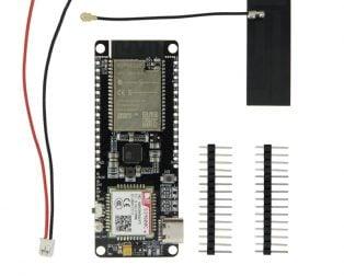 TTGO TCall & SIM800C-DS V02 ESP32 WIFI Bluetooth Nano Card Slot SIM800C Development Board