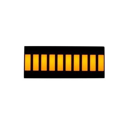 Yellow 10 Segment LED Display