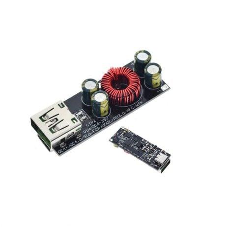 QC4.0 QC3.0 USB Type-C 6-35 V Step Down Buck Module