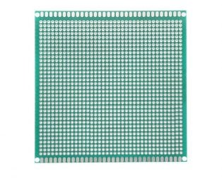 10 x 10 cm Universal PCB Prototype Board Single-Sided 2.54mm Hole Pitch
