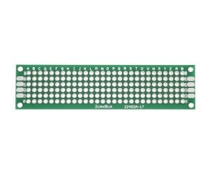 2 x 8 cm Universal PCB Prototype Board Single-Sided 2.54mm Hole Pitch