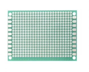 5 x 7 cm Universal PCB Prototype Board Single-Sided 2.54mm Hole Pitch
