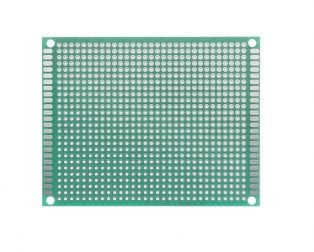 7 x 9 cm Universal PCB Prototype Board Single-Sided 2.54mm Hole Pitch