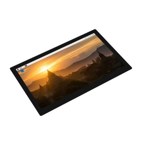Waveshare 9inch 1280×720 QLED Capacitive Touch Quantum Dot Display With G+G Toughened Glass Panel And Various Systems Support