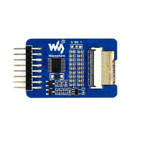 Waveshare 1.02inch 128×80 black/white dual-color E-Ink display module