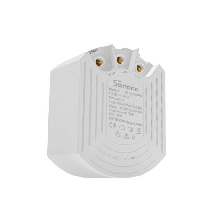 Sonoff D1 Wifi 433Mhz Smart Dimmer Switch DIY Smart Home Mini Switch