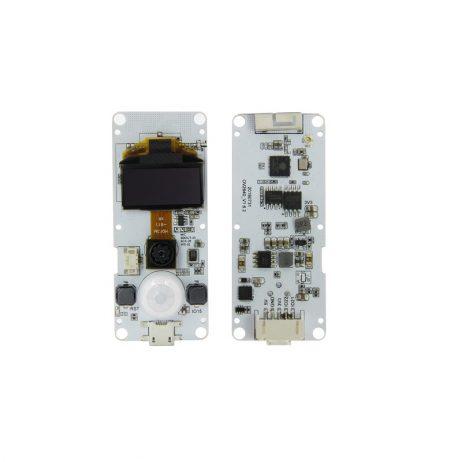 TTGO T-Camera ESP32 WROVER & PSRAM Camera Module ESP32-WROVER-B OV2640 Camera Module 0.96 OLED Normal Camera with Mic
