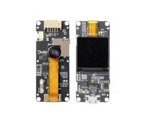 TTGO OV2640 1.3 Inch T-Camera Plus Fish-eye Lens Rear Camera Module with MPU6050