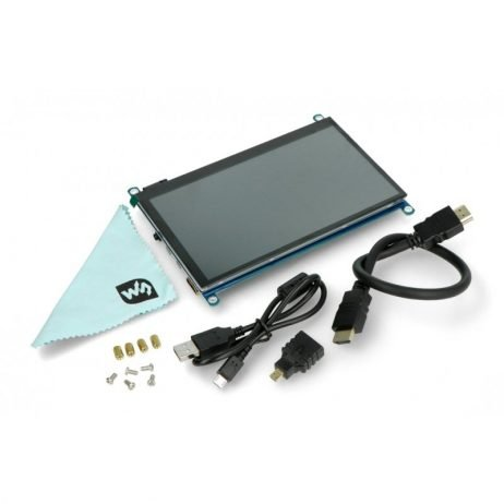 Waveshare 7inch 1024×600 HDMI, IPS Capacitive Touch Screen LCD (H) With Various Systems Support