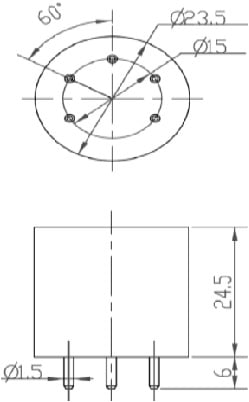 Winsen ZE03-H2S GAS Sensor Module