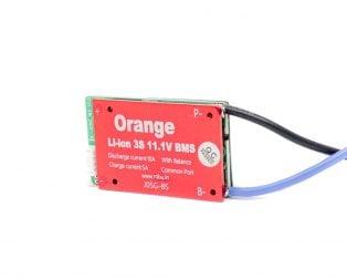 Orange 3S 11.1V 10A Battery Management System( without Casing)