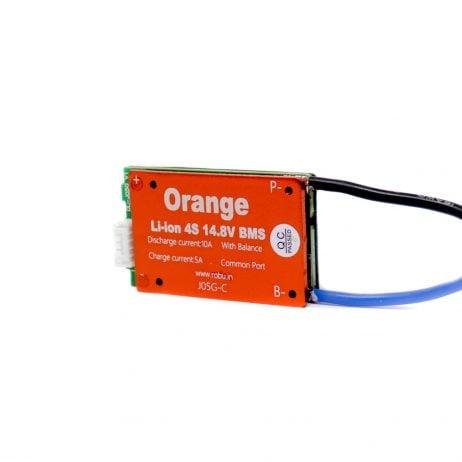 Orange 4S 14.8V 10A Battery Management System (Without Casing)