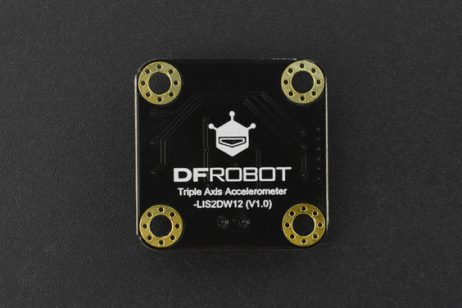 DFRobot Gravity I2C LIS2DW12 Triple Axis Accelerometer Sensor