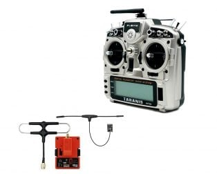 FrSky Taranis X9D Plus 2019 Digital Telemetry Drone Remote Control with with R9M 2019 Module and R9MX Receiver