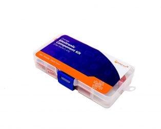ORANGE 45PCS DIP 2.54mm 1-9P Flat Dial Switch Kit
