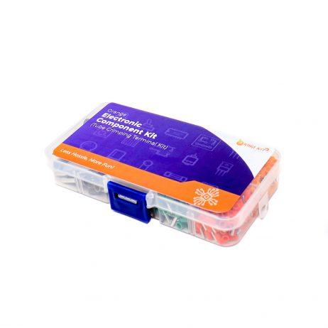 ORANGE 400PCS E0506-E6012 Tube Crimping Terminal Kit