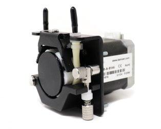 Kamoer 12V 30mlmin BPT Tube stepper motor 6 rollers liquid peristaltic pump