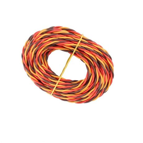 Twisted 22AWG JR Servo Extension Lead Wire (ROB)-1meter