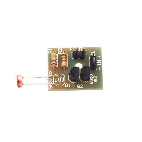 Orange Light Control Sensor Switch Suite Photosensitive Induction DIY Kit
