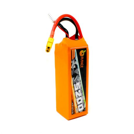 Orange 5200 mAh 5S 25C/50C Lithium polymer battery Pack (LiPo)