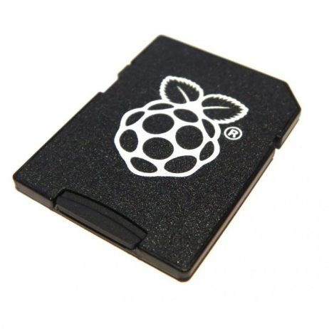 Raspberry pi Official microSD to Full Size SD Card adapter