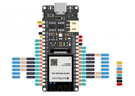 DFRobot FireBeetle 2 ESP32-E IoT Microcontroller (Supports Wi-Fi & Bluetooth)