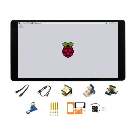Waveshare 5.5inch 1080×1920 HDMI AMOLED Capacitive Touch Screen with Case