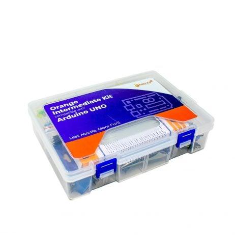ORANGE Intermidiate Kit For Arduino Uno