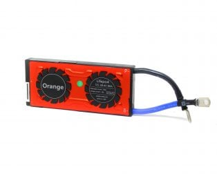 Orange Lifepo4 12S 38.4V 80A Battery Management System