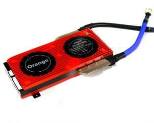 Orange Lifepo4 20S 64V 250A Battery Management System