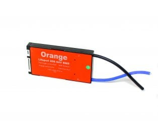 Orange Lifepo4 20S 64V 50A Battery Management System