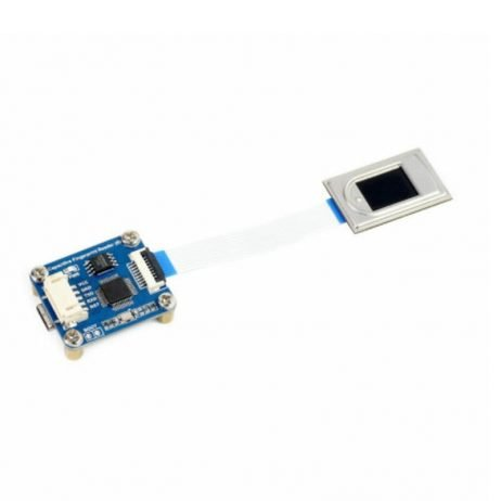 Waveshare High precision Capacitive Fingerprint Reader (B), UART/USB dual ports