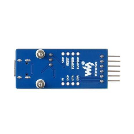 Waveshare CP2102 USB UART Board (Type C), USB To UART (TTL) Communication Module, USB-C Connector